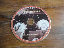 "JOE BONAMASSA SIGNED ""SO IT'S LIKE THAT"" CD AUTOGRAPHED COA RARE GUITAR LEGEND!"
