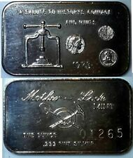 Silver Bullion 999 Salute to Coinage and Minting 1 oz