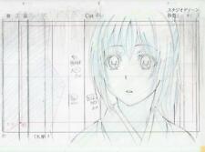 Hakuoki Anime Layout Cel Sketch Chizuru hakuouki japan art