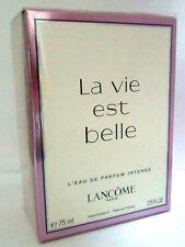 La Vie Est Belle L'eau De Parfum Intense 75ml EDP by Lancome Sealed -New In Box*