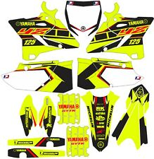 Vibrant Highlighter YAMAHA GRAPHICS  YZ 125 YZ125 2015 2016 2017 2018 2019