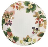 Apollo Porcelain By Nancy Calhoun English Country Fruit 3- Dinner Plates