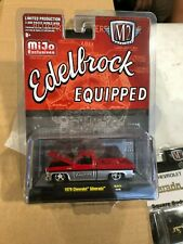 M2 C10 SILVERADO EDELBROCK DIECAST TRUCK 1.64 LIMITED EDITION HOBBY ONLY