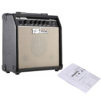 Professional 15W Electric Guitar Amplifier Amp 5'' Speaker Volume Control H5M8