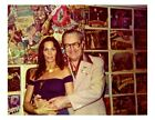 FORREST J ACKERMAN 1975 8X10 PHOTO FAMOUS MONSTERS BARBARA LEIGH VAMPIRELLA