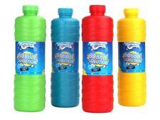 Super Bubble Solution 1L Pre Ready Mixed Refill Liquid Bottle Guns Machines Wand
