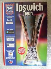 2001 IPSWICH TOWN v HELSINGBORGS IF, 18th Oct (UEFA CUP 2nd RD 1st Leg)