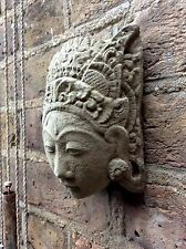 Simply Beautiful Stone Buddhas Wall Plaque. Unique From The Designer Sius.