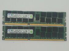 32GB (2x16GB) Samsung 2Rx4 PC3L-12800R DDR3-1600 Memory 240 Pin High Density RAM