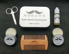 Birthday Present for all DAD's with facial hair! Mohawk Beard Grooming Gift Kit.