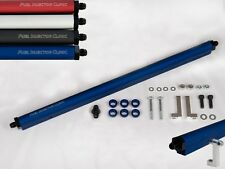 FIC TOYOTA SUPRA 2JZ-GTE FUEL RAIL -8 INLET FITTINGS -6 OUTLET FITTING BLACK