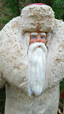1960s USSR Russian LARGE Size DED MOROZ Santa Claus COTTON Christmas Figure