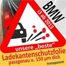 BMW I3-I3s Ab 2013 Lámina de Protección Del Cargamento Película Alféizar