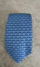 Vineyard Vines Neck Tie Menorah Star of David Hanukkah Silk Blue White New Tags