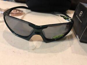 New Optic Nerve Cauldron Green 3 Interchangeable Lenses Sunglasses