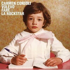 Carmen Consoli Volevo Fare La Rockstar LP Vinile Nuovo Sigillato