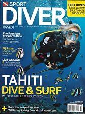 Sport Diver Magazine Tahiti Dive And Surf Puerto Rico Fiji Luxury Drysuits Test