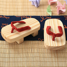 Fashion BJD Wooden Shoes Flip Flops Thick Sole Slipper Clog Shoes for ID75 Dolls