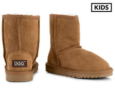 OZWEAR Connection Kids' Ugg Boots - Chestnut AD740