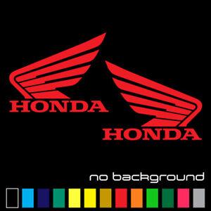Honda Wing Logo Sticker Vinyl Decal Emblem Motorcycle Tank 929 f3 f4 1000 900rr