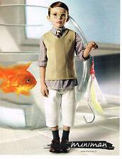 PUBLICITE ADVERTISING 094  2008   MINIMAN   vetements enfants