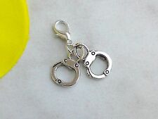 Charms Anhänger HANDSCHELLEN* Charm Fesseln Handcuff für Bettelarmband und Kette