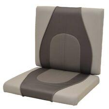Crestliner Boat Jump Seat Cushions 2156596   Charcoal Gray (Set of 2)