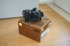 Fotocamera Nikon D80 reflex digitale macchina fotografica corpo macchina (no d90
