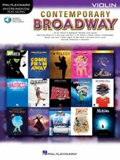 Contemporary Broadway Instrumental Play-Along Violin Book and Audio 000298711