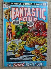 Fantastic Four #127 (Oct 1972) Mole Man app. 7.0 FN/VF Glossy Flat Beautiful