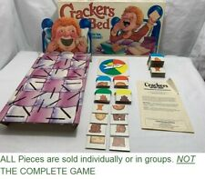 U-PICK 1987 Crackers In My Bed Matching Game Parker Bros. replacement parts