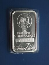 Silvertowne 5 Oz Silver Bullion Bars Amp Rounds For Sale Ebay