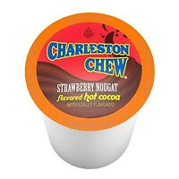 Charleston Chew Strawberry Hot Cocoa for Keurig K-Cup Brewers, 12 Count