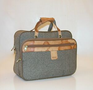 "Hartmann 16"" Tweed® Belting Leather Carry-On Boarding Cosmetic Bag * NO SHOULDER"