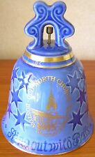 BING & GRONDAHL ~ NEW YEAR CATHEDRAL BELL OLD NORTH CHURCH BOSTON 1976