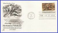 USA3 #1722 U/A ARTCRAFT FDC   Herkimer at Oriskany