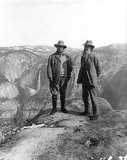 TEDDY ROOSEVELT AND JOHN MUIR YOSEMITE 1906 11x14 SILVER HALIDE PHOTO PRINT