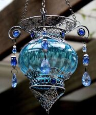 Turkish Style Hanging Tea Light Candle Holder   BRAND NEW