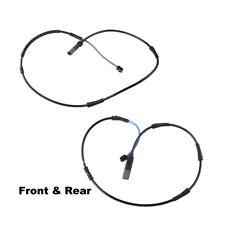 For BMW F10 528 535 Brake Pad Wear Sensor Kit Front+Rear 34356791958+34356791962