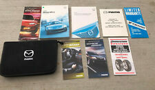 2006 06 OEM Mazda MX-5 MX5 Miata Owners Owner's User Manual With Case - MINT