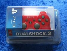 Original Dualshock 3 Wireless Controller Red Rot, PS3 Sony PlayStation, Neu OVP