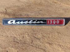 Classic Austin 1300 Badge Genuine BMC Wall Art