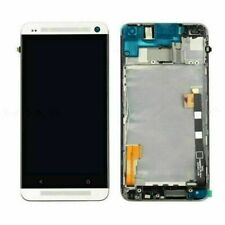 For HTC One M7 LCD Display Touch Screen Digitizer + Frame Assembly Replacement