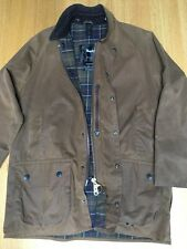 Barbour Mens M-L C40 48in Classic Moorland Waxed Field Hunting Jacket Excellent
