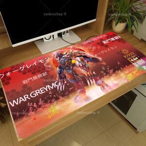 HOT Anime Digimon Wargreymon Cosplay Otaku Large Mouse pad Playmat 40x70Cm Gift