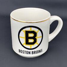 Vintage Boston Bruins NHL Mug Ceramic Coffee Cuff Hockey Team Logo Full Size