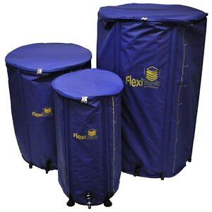 FlexiTank Flexiable Collapsable Water Tank Butt - 100L/225L/400L - Hydroponics