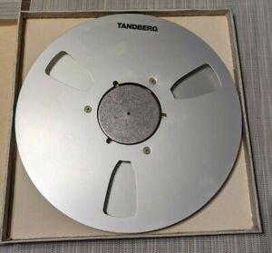 """Tandberg Reel 10.5"""" 1/4"""" metal great shape"""
