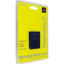 Sony Playstation 2 Memory Card 8 MB Official Original Storage Brand New Sealed
