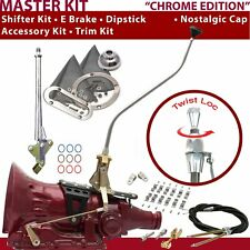 C4 Shifter Kit 23 Swan E Brake Cable Clamp Clevis Trim Kit Dipstick For D1FA3
